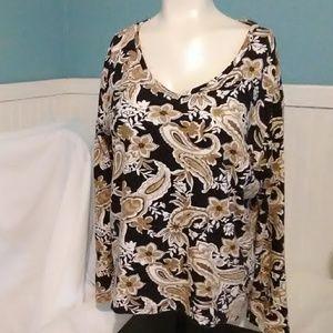 Karen Scott Tops - Karen Scott Long Sleeve Shirt